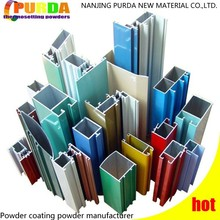Custom Color Coating Powder For Aluminium Building Material