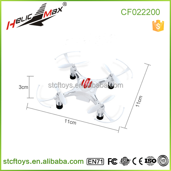 Hot hot toys!2.4G 4CH 6 Axis gyro11cm Quadcopter Drone Headless Mode 1 Key Return RTF JJRC H8 Mini Toys
