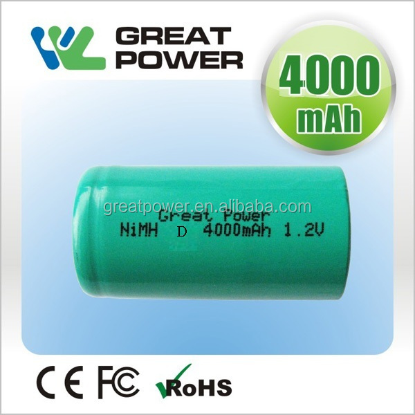 4000mah 4.8v emergency light nimh battery pack