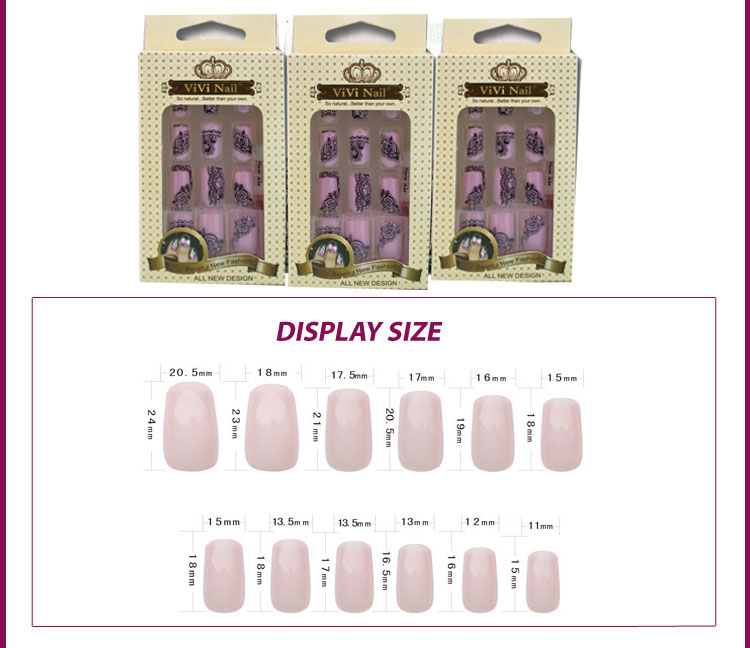 New Products 2016 Hallowmas Printer Designs Acrylic Nails ...