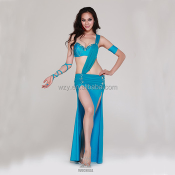 Sexy blue costumes