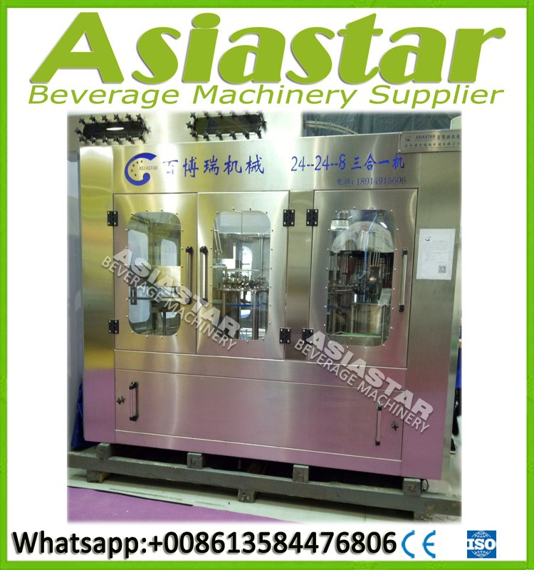 Automatic Bottle Filling Production Line/Water Purification Machine