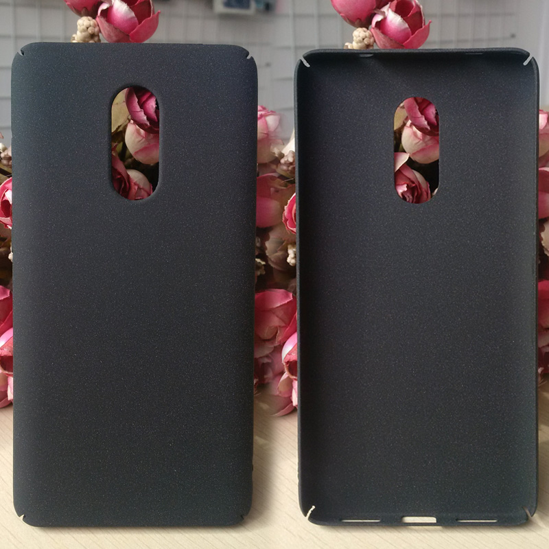 Sandstone Matte PC <strong>case</strong> For Redmi Note 4X hard back cover