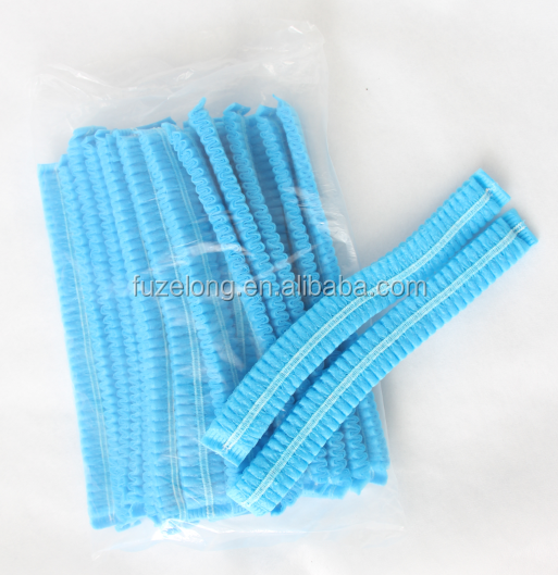 Disposable Nonwoven Surgical Bouffant Mob Cap Clip Cap