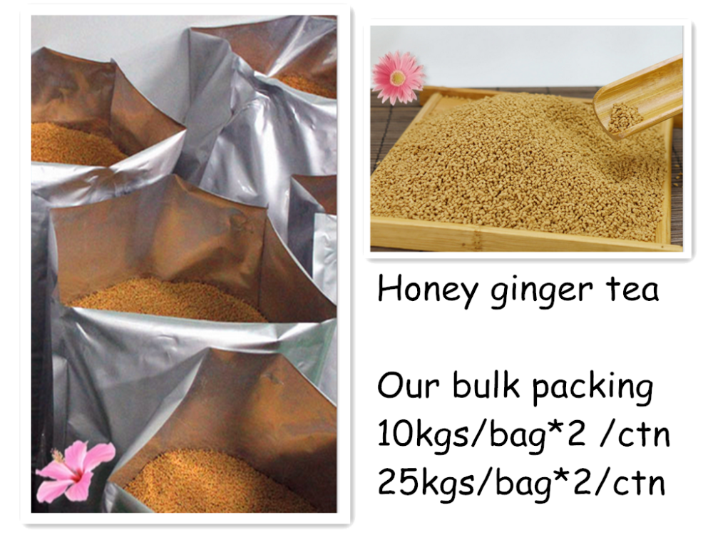 Natural ginger tea with lemon in bulk package 10kgs *2bag /carton - 4uTea | 4uTea.com