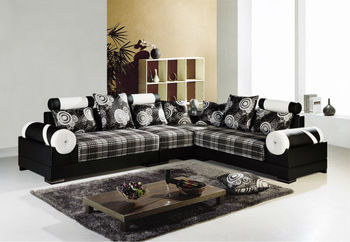 2014 New Design Living Room Fabric Sofa Set Was Made By Solid Wood