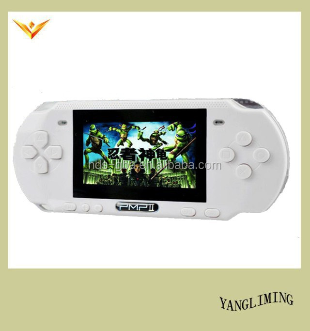 new handheld game consoles with 10000 mix games /music PMP2 with black/blue/white/green