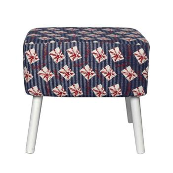 Wholesale Home Furniture Union Jack DIY Vintage Footstool Pouffe With LOW  MOQ