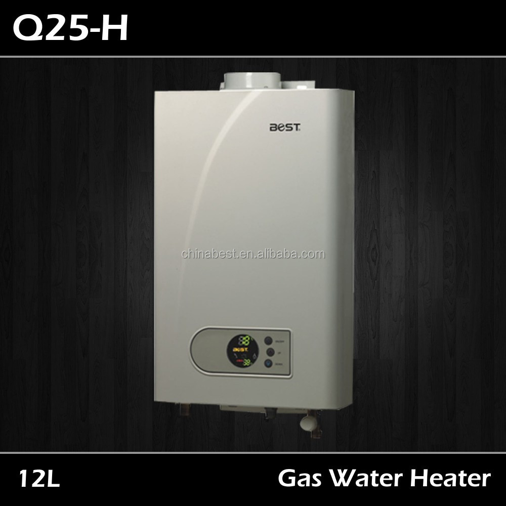 Force Draught Pure copper Hot Junkers Gas Water Heater with PC Control