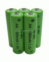 Ni-MH/NiMH/ AA Battery 1300mAh Manufacturer with CE,ROHS,UL certificates