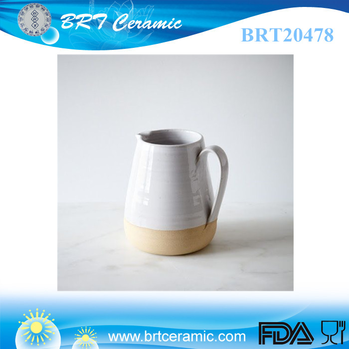 wholesale hot antique ceramic small custom water pitcher