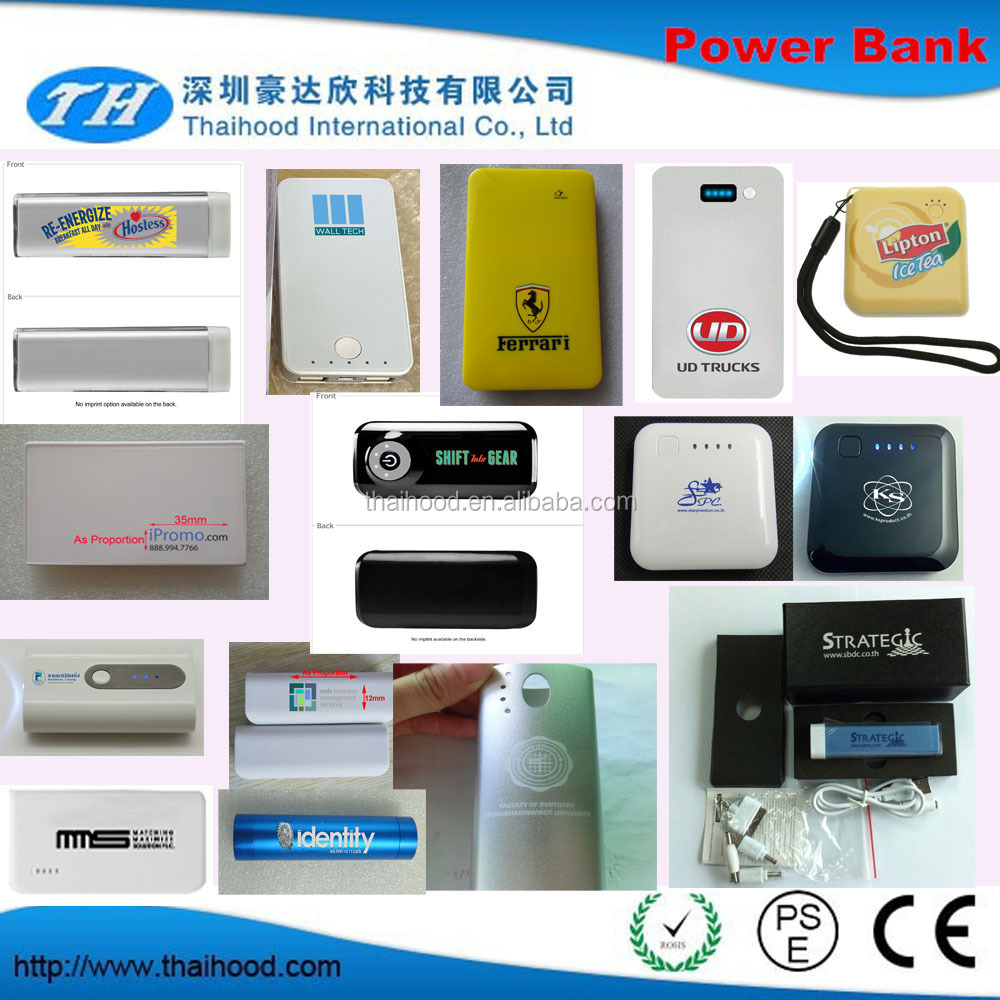 portable charger power bank, power bank with pouch, portable universal power bank FCC CE ROHS