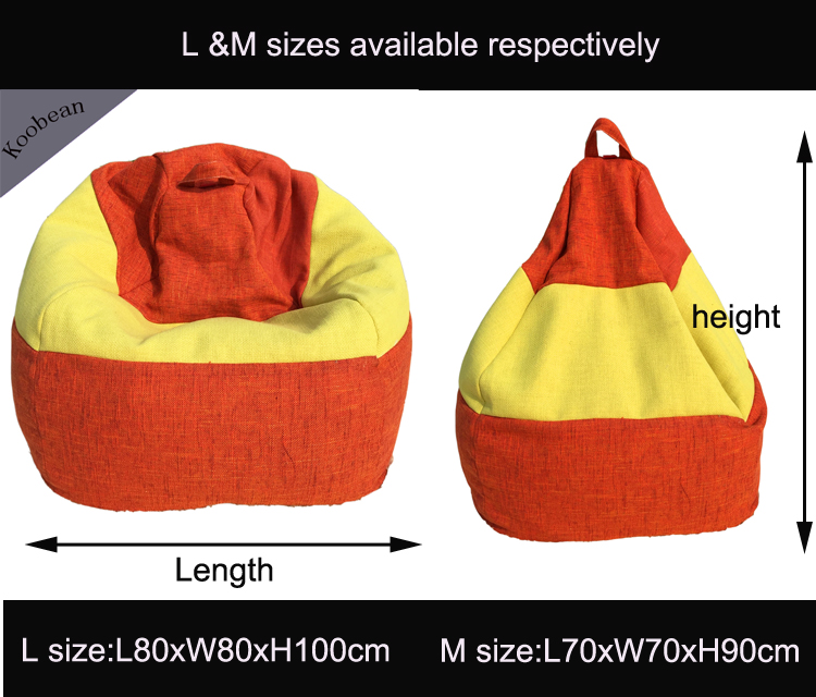 2017 Hot Teardrop Bean Bag Cover Lazy Sofa Chair