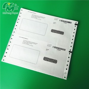 high quality Customized pay slip with good image printing