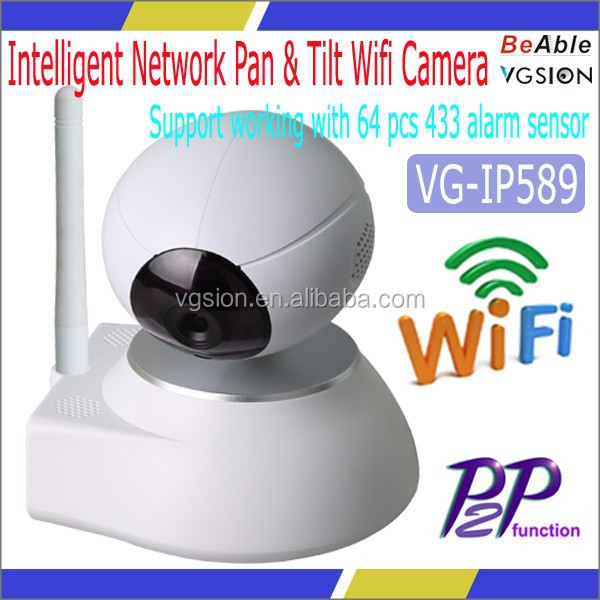 Pan & Tilt HD IP Caerma for Home Using and Baby Monitor, ip network pan and tilt camera mount