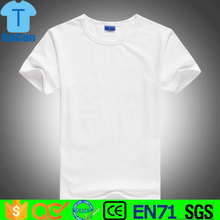 promotional blank mens clothing plain print 100% cheap white t shirt
