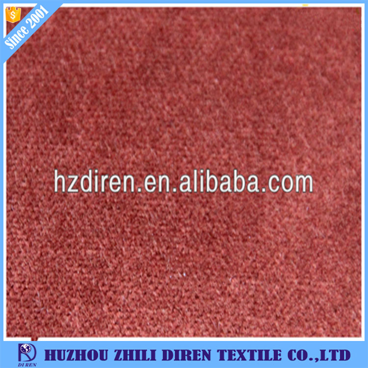 Cotton/Rayon Real Velvet Yarn Dyed Corduroy Fabric