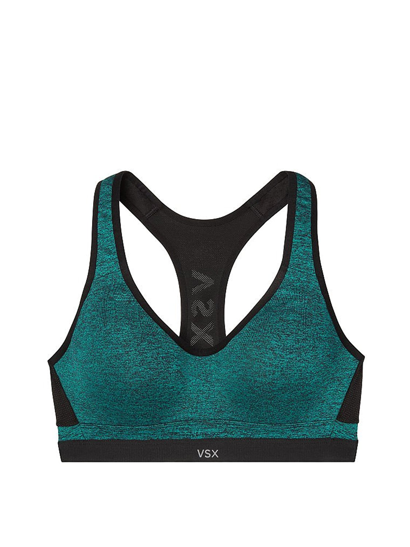 7885b2b4b1339 Buy VSX Incredible by Victorias Secret Sport Bra 34D Turkish Blue ...