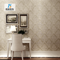 Luxury 3d embossed textile wall covering