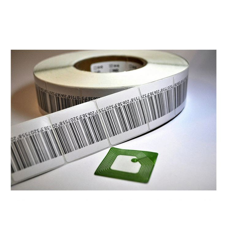 customized size passive hf/uhf pvc rfid 4k mobile stickers