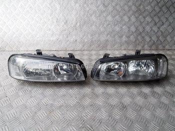 USED JDM Front Headlights Lights OEM For 99 03 Skyline R34 GTR GTT Turbo