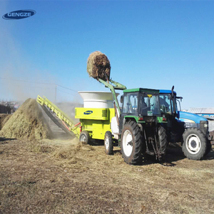 Agricultural mass producing herbage chaff cutter machine with motor