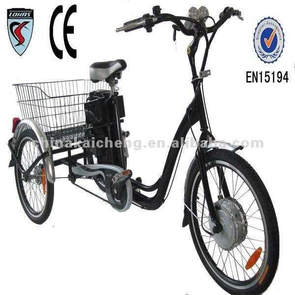 carico tre ruote bicicletta elettrica tricicli id prodotto