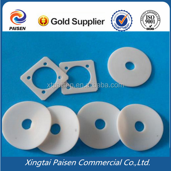 white anti chemical and insulation PTFE seal o ring/teflon band/gasket/washer