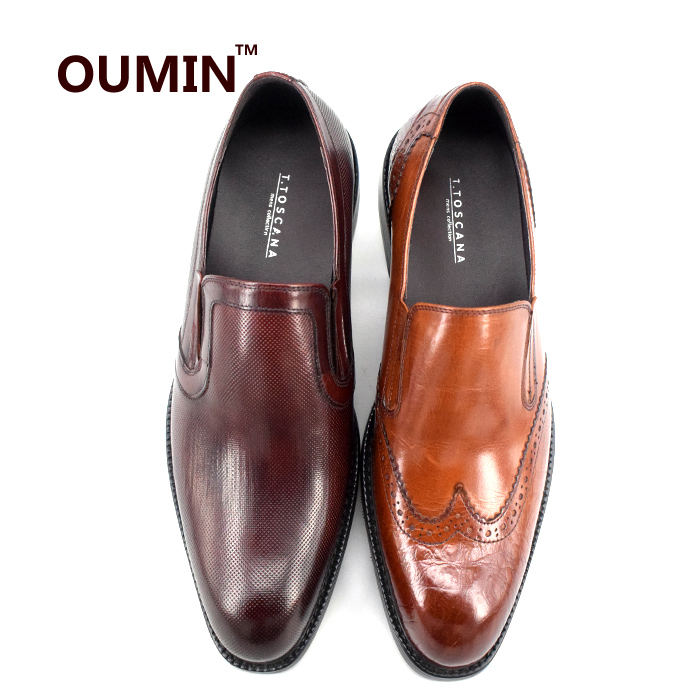 2018 dress can big Italian quality shoes genuine make leather size men design rwZqrC