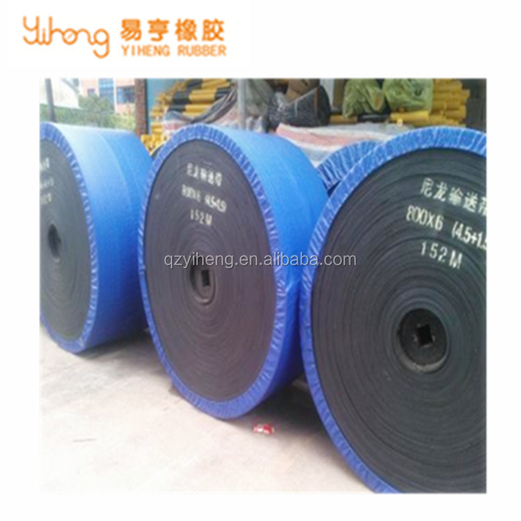 Stable performance mining rubber belt conveyor
