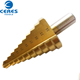 wholesale china merchandise straight flute hss unibit step drill bit