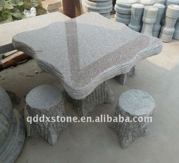 Natural Stone Table and Chairs