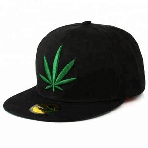 3f22305a0ce Weed Lead Printed Design Snapback Adjust Flat Cotton Hats