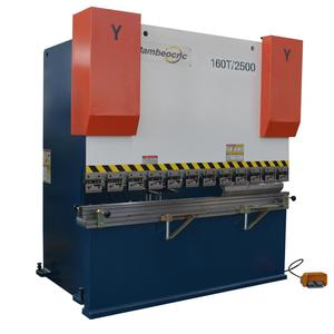 table top 4 ft press brake manufacturers with electric finger tooling material