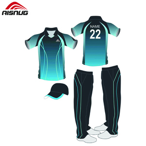 Embroidery full hand personalized custom sublimated sports t shirts cricket