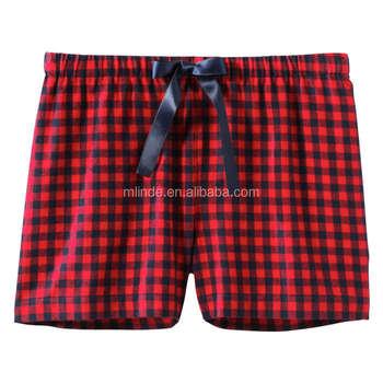 64bd2a3c47a Custom Christmas Pajamas Print Sleep Short Flannel Pajamas Womens Sleep  Boxer Shorts Pajamas Women 2017 Summer - Buy Ladies Summer Pajamas Sleep  Boxer ...