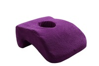 2017 Soft memory foam nap pillow, desk pillows for office afternoon rest/sleeping neck support with a hole