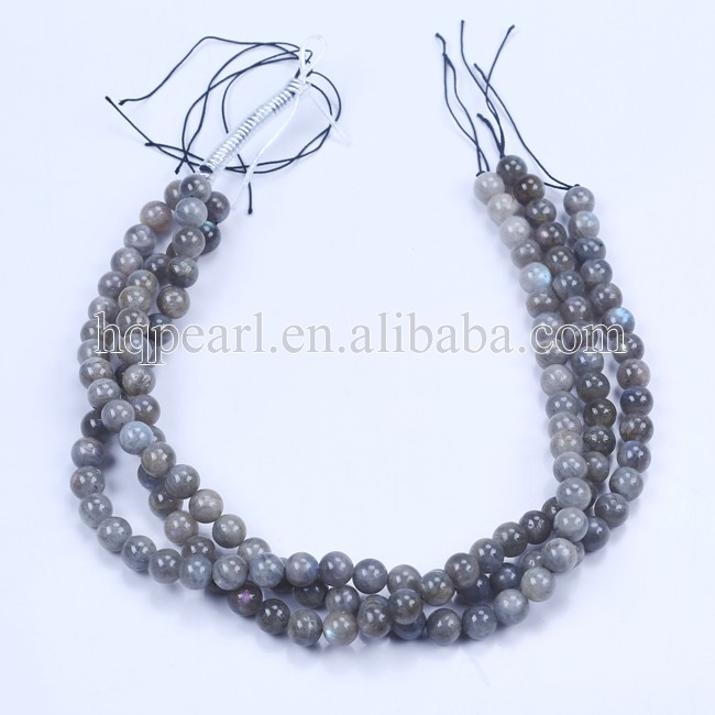 High quality luminous stone 10mm grey round agate beads strings