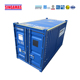 Wholesale 16 feet durable transport containers spray paint offshore container