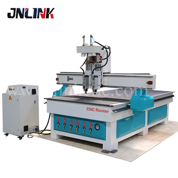 Long Service Life 1325 Woodworking Machine Two Heads Cnc Router Buy Cnc Router Machine Woodworking Cnc Router Machine Two Heads Cnc Router Machine