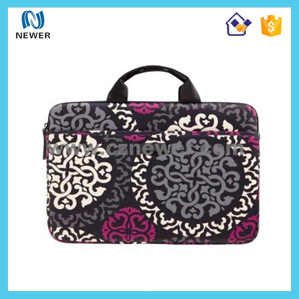 Colorful promotional high quality neoprene 10.1 netbook sleeve