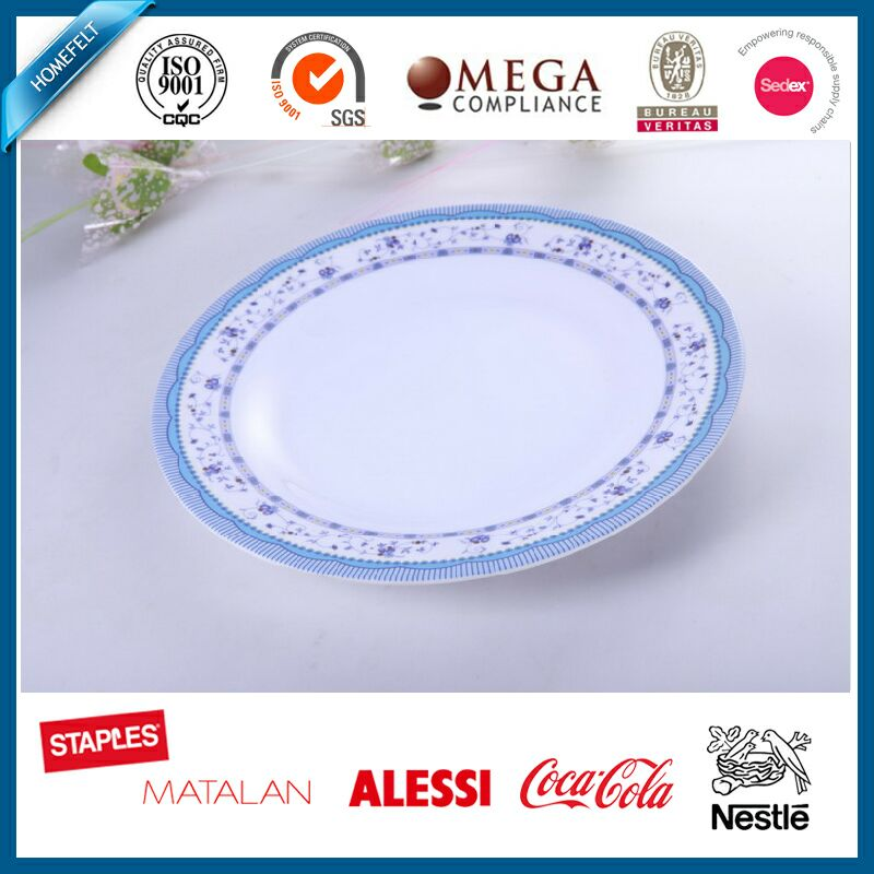 South Africa hot sell food grade dish plate