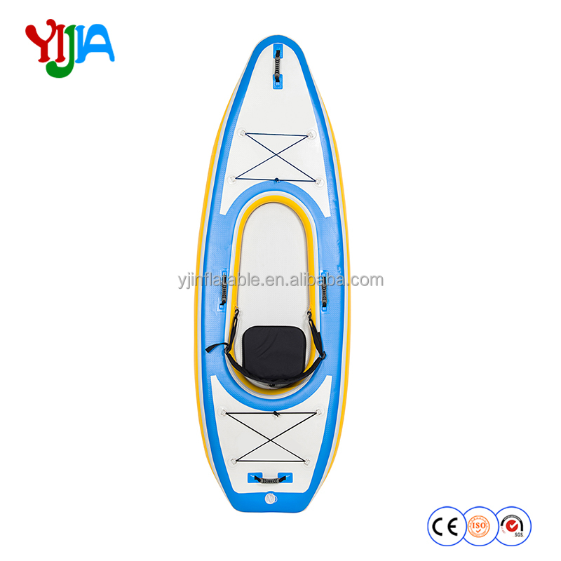 portable inflatable 1 seat kayak with paddle