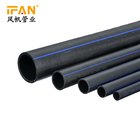 2019 New Products Plastic Tube Polyethylene hdpe roll pipe 2 inch Black color 1 inch HDPE Pipe PE Pipe