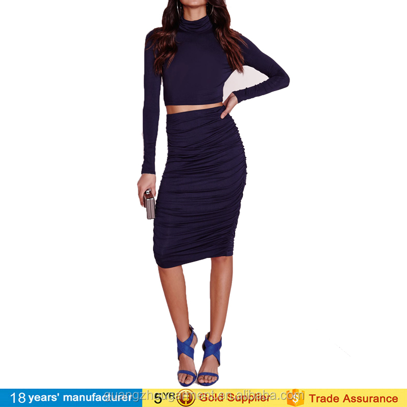 Sexy 2 Teilig Kim Kardashian Kleider Frauen Zweiteilige Kleid ...