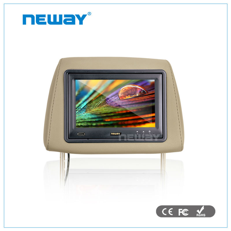 7 inch Headrest car monitor