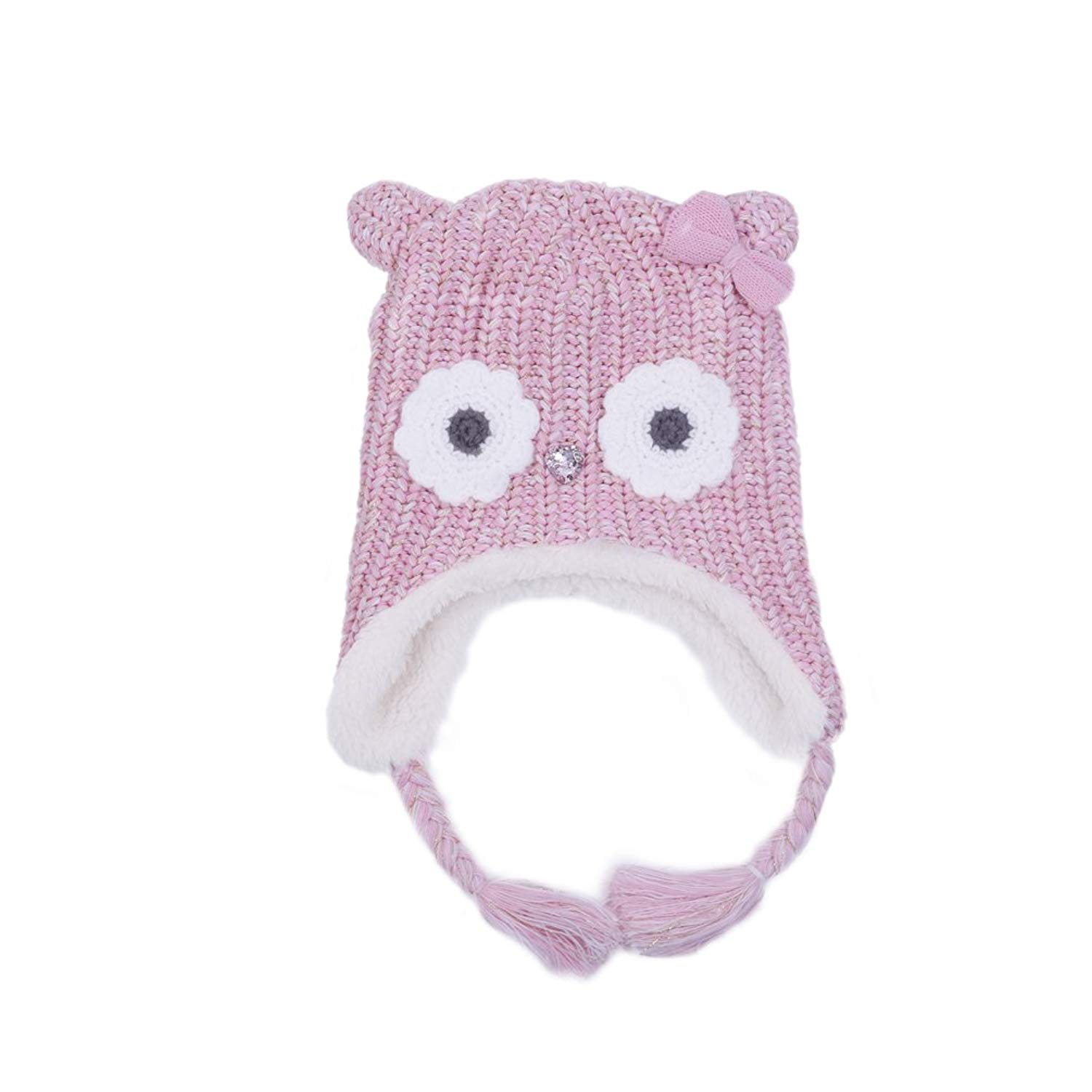 9532a8ca96f03 Get Quotations · LoveKids Girls and Boys Sherpa Lined Fleece Hat Earflap