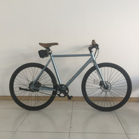 Light Weight Single Speed 700C Rear Motor Road Electric Bike