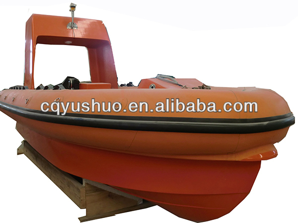 Marine Solas Approved Frp Inflatable Rescue Boat