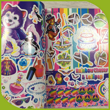 Custom art sticker book princess my sticker activity book
